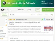 Eleanor Roosevelt: First Lady, Diplomat, and Activist Lesson Plan