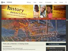 Think Like a Historian: A Viewing Guide Lesson Plan