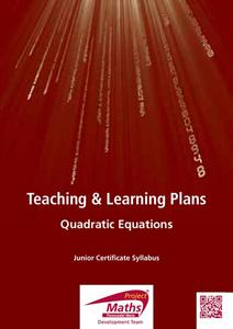 Introduction to Quadratics Lesson Plan