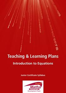 Introduction to Equations Lesson Plan