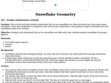 Snowflake Geometry Lesson Plan