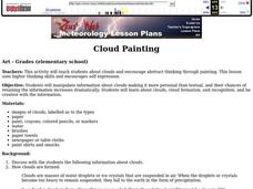 Cloud Painting Lesson Plan