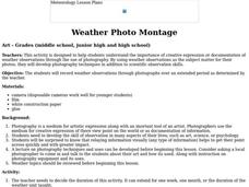 Weather Photo Montage Lesson Plan