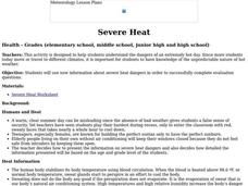 Severe Heat Lesson Plan