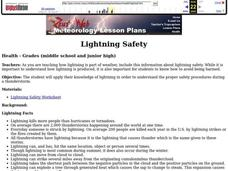 Lightning Safety Lesson Plan