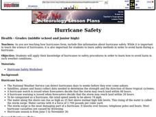 Hurricane Safety Lesson Plan