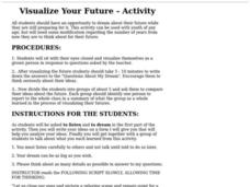 Visualize Your Future Lesson Plan