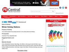 Winter Holiday Stations Lesson Plan