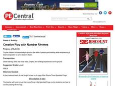 Creative Play with Number Rhymes Lesson Plan