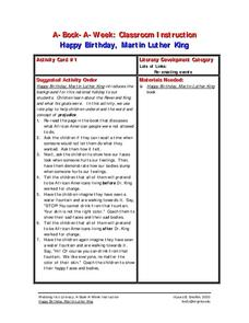 Happy Birthday, Martin Luther King Lesson Plan