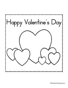 Happy Valentine's Day Lesson Plan