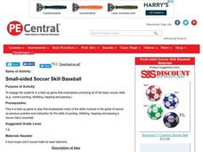Small-sided Soccer Skill Baseball Lesson Plan