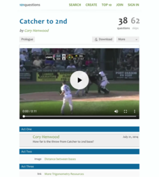 Catcher to 2nd Activities & Project