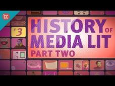 History of Media Literacy Part 2: Crash Course Media Literacy Video