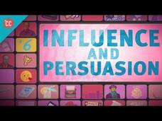 Influence and Persuasion: Crash Course Media Literacy Video