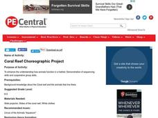 Coral Reef Choreographic ProjectTo Lesson Plan