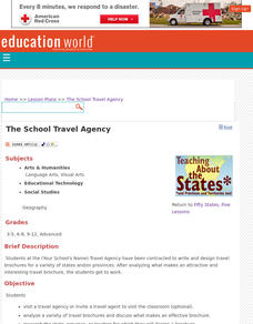The School Travel Agency Lesson Plan