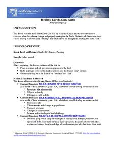 Healthy Earth, Sick Earth Lesson Plan