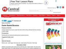 Easter Basket Bonanza Lesson Plan