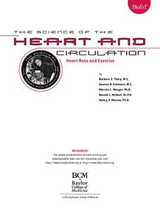 Heart Rate and Exercise Lesson Plan