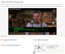 Real-Life Math | Woodworker Video