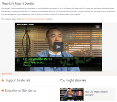Real-Life Math | Dentist Video