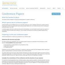 Conference Papers Website