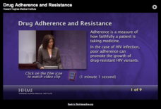 Drug Adherence and Resistance Interactive