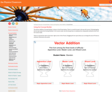 Vector Addition Interactive