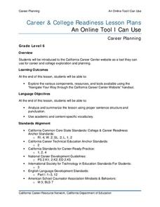 An Online Tool I Can Use Lesson Plan