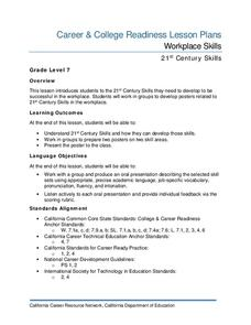 Workplace Skills Lesson Plan