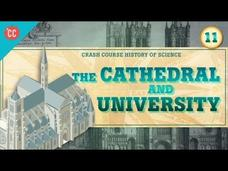 Cathedrals and Universities: Crash Course History of Science #11 Video