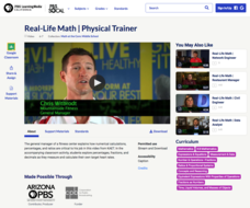 Real-Life Math | Physical Trainer Video
