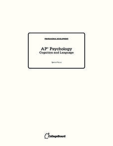 Psychology Lesson Plans & Worksheets | Lesson Planet