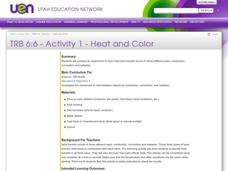 Heat and Color Lesson Plan