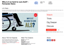 Why Is It so Hard to Cure ALS? Video