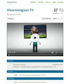 Viewmongous TV Activities & Project