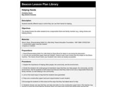 Helping Hands Lesson Plan