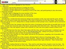 Hatchet 4th Grade Lesson Plan | Lesson Planet