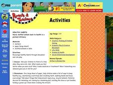 Healthy Habits Lesson Plan