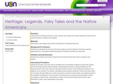 Heritage: Legends, Fairy Tales and the Native Americans Lesson Plan