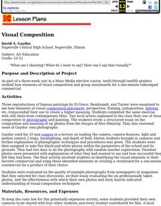 Visual Composition Lesson Plan