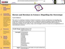 Heroes and Heroines in Science: Dispelling the Stereotype Lesson Plan