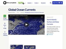 Global Ocean Currents Video