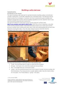 Building a Safe Staircase Lesson Plan