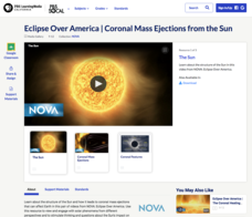 Eclipse Over America | Coronal Mass Ejections from the Sun Video