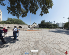 The Alamo Then and Now Interactive