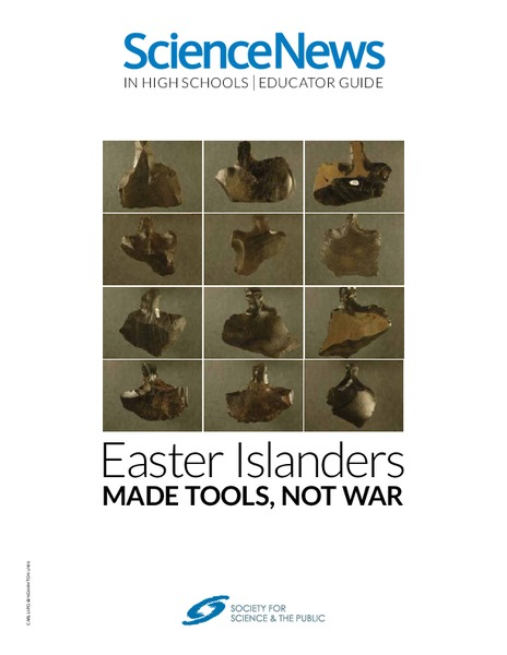 Easter Islanders Made Tools, Not War Lesson Plan