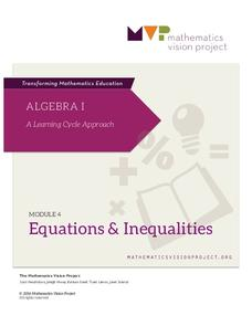 Module 4: Equations and Inequalities Unit