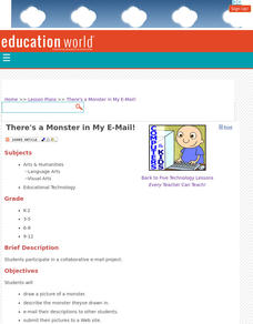 There's a Monster in My E-Mail! Lesson Plan